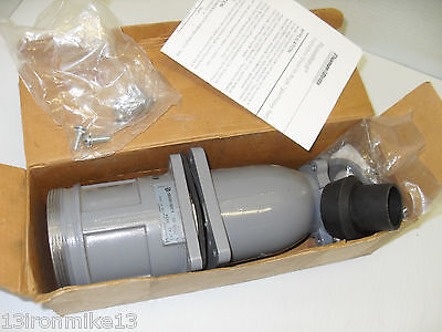 New Russellstoll Thomasbetts 8454 Ever-lok Connector 600v 60a 60-amp 3w 4p