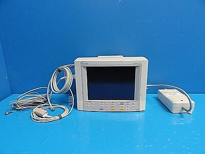 Datascope Passport Xg Nibp Ekg Spo2 Temp Print Patient Monitor W Leads14687