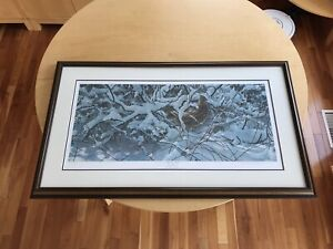 Ducks Unlimited 1997 Print Ruffed Grouse / excellent condition