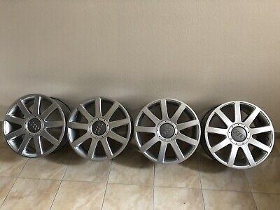 4x Alufelgen/ Leichtmetallfelgen Original Audi 8P0601025Q 7,5Jx17 ET56