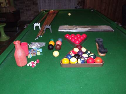 Snooker Table. 7'x 3.6 Slate Competition Snooker, Pool & Billard Hassall Grove Blacktown Area Preview