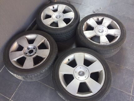 Holden Wheels - VZ Calais Rims and Tyres - 17Inch Wheels 5x120