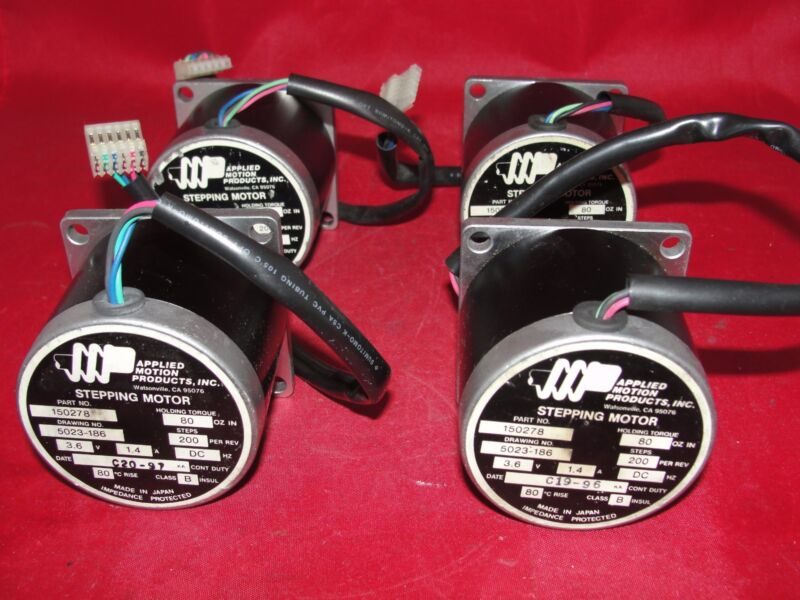Applied Motion Products 150278 Stepping Motor 3.6V 1.4A LOT OF 4