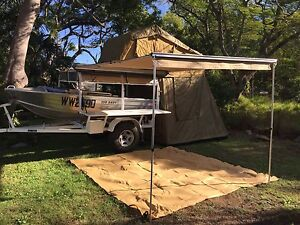 Camper trailer and boat combo Booval Ipswich City Preview