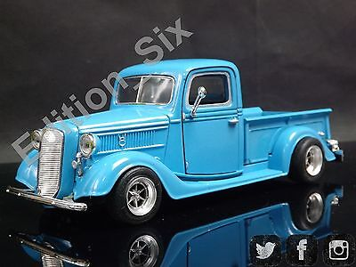 Custom Modified 1:24 1937 Ford Pickup Classic vintage American HotRod (1937 Ford Hot Rod)