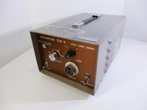 Vintage Olympus CLK-3,Cold Light Supply, Light Source, Olympus Optical