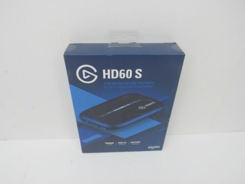 ELGATO GAME CAPTURE HD60 S 1080P STREAM INSTANTLY 1GC109901004 BRAND NEW,SEALED