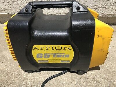 Appion G5twin G5 Twin Hvac Refrigerant Recovery Machine Air Conditioner