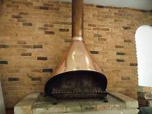 Retro copper fireplace Point Clare Gosford Area Preview