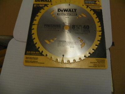 Dewalt 8-14 X 40 Tooth Precision Finishing Saw Blade