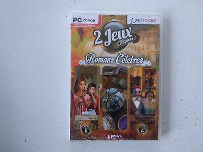 2 jeux objets cachés : Orgueil et préjugés + les 3 mousquetaires PC FR NEUF d'occasion  Expédié en Belgium