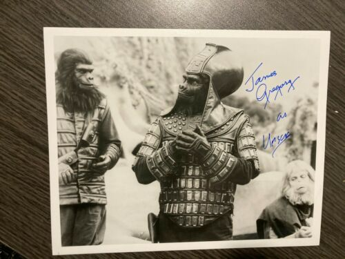 James Gregory Planet of the Apes 8x10 AUTOGRAPHED Signed Glossy Photo