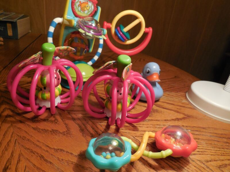 Infant- Toddler Toys/ Rattles