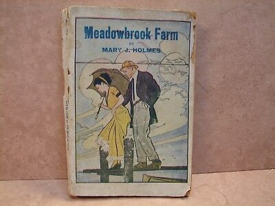Antique book Meadowbrook Farm by Mary J. Holmes ~ # 202, Cir. 1906, No Pub Date  Meadowbrook Farm