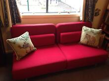Nood Swizzle Double Sofa Bed in Perfect Condition Carlton Melbourne City Preview