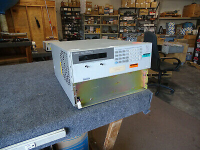 Hp Agilent 6843a Harmonic Flicker Test System Sold For Parts Repair