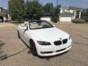 2008 BMW 328i CONVERTIBLE ONE OWNER WINTER TIRES&RIMS