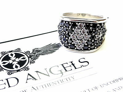 Men's Silver Wedding Band Fashion Ring With  Diamonds by Sacred Angels