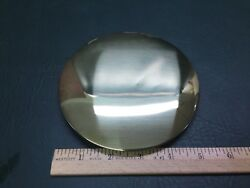 NOS Vtg Wall Clock Brass Coated Iron Pendulum 5-1/2 Bob