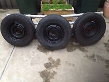 Holden HQ 14 x 5  1/2  rims Seaton Charles Sturt Area Preview