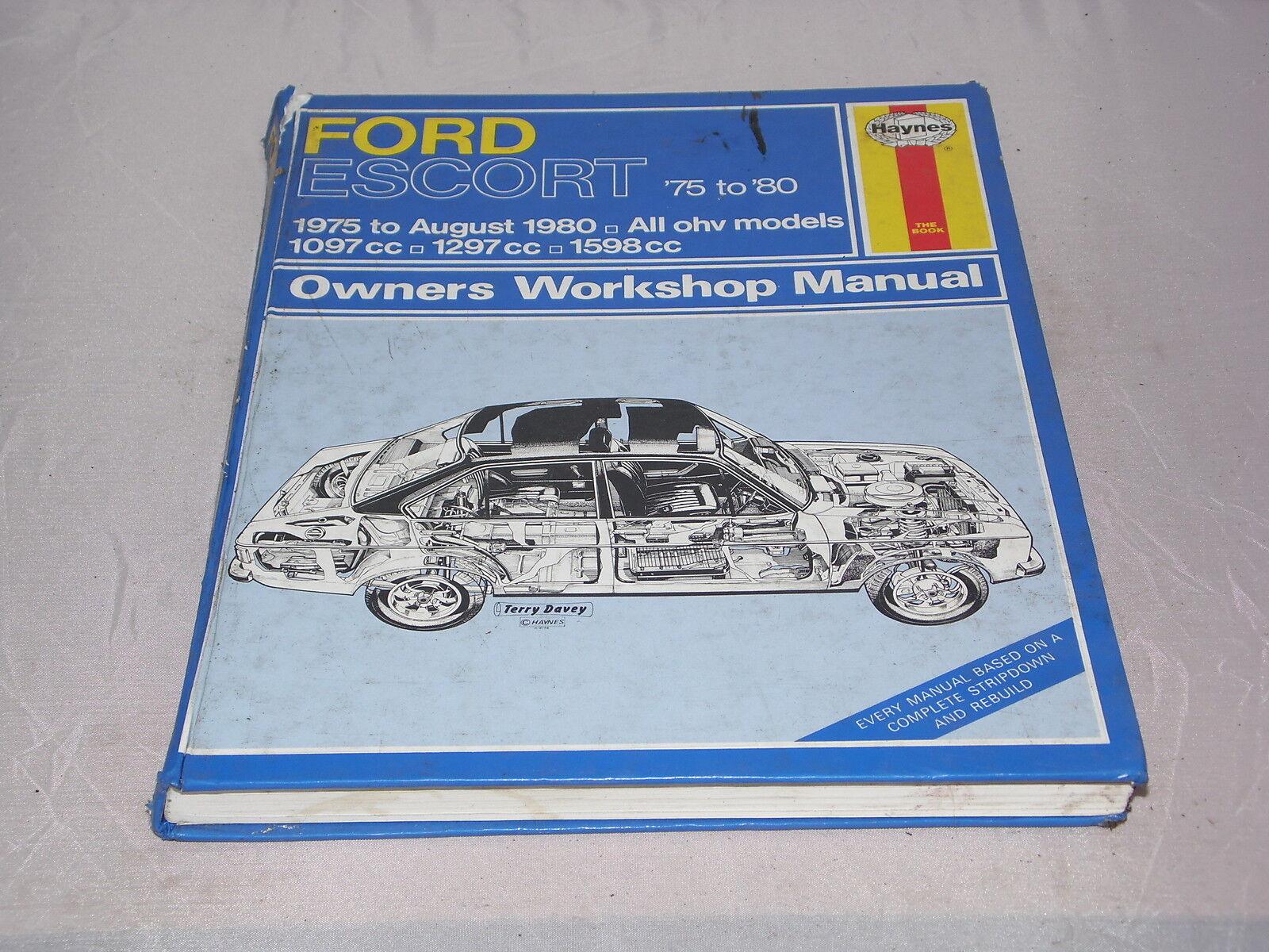 descargar manual de taller ford escort