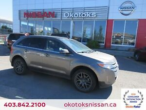 2014 Ford Edge Limited AWD, HEATED LEATHER, NAVIGATION, REMOT...