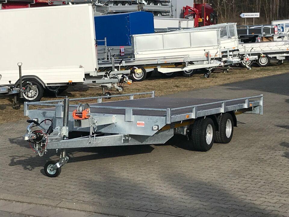 ⭐️Eduard Auto Transporter 2700kg 406x200cm Reling Rampen Winde 56 in Schöneiche bei Berlin