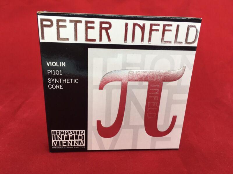 Thomastik Peter Infeld Violin String  Set 4/4 with Tin E
