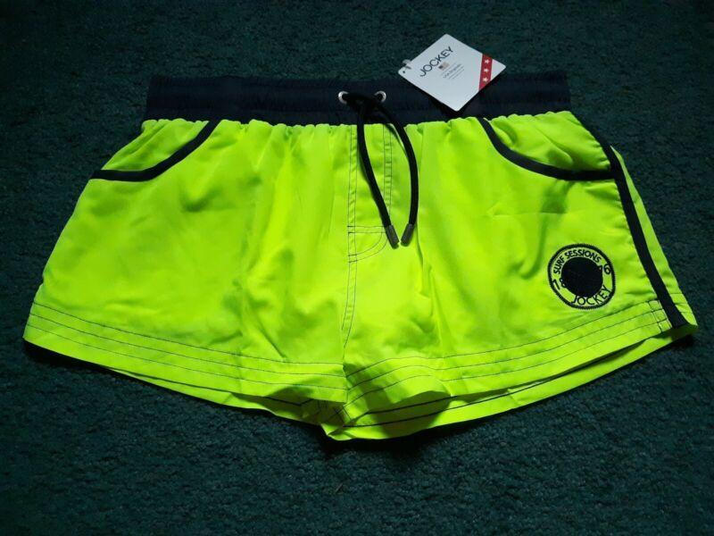 IMPORTED Jockey Athletic Swim Surf Shorts - 1 Pair - Large (34-36)
