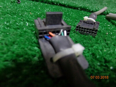 Motorola Pm400 Cm300 Pm400 Gm300 M120 Radio 16 Pin Accessory Plug W 4 Leads