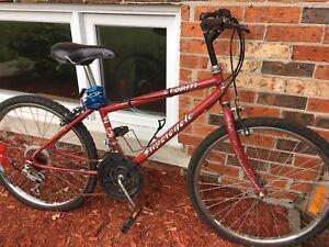 Vélo/bicyclette Rouge pour enfants 9-11ans