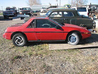 1984 Pontiac Fiero 2M4 Parts Car Auto A/C Sunroof 1985 1986 1987 1988 2M6 GT