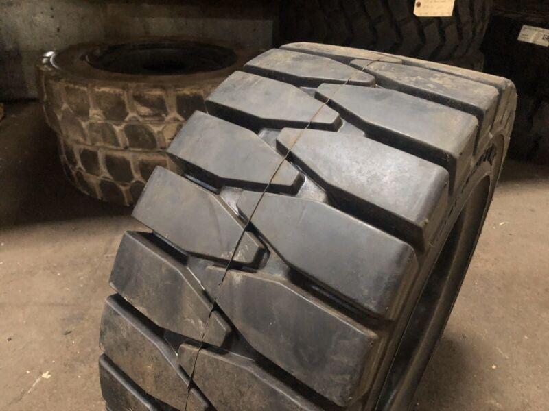 23x10-12 ITL Solid Pneumatic Tire Rim Size 8 Forklift Tires NashFuel