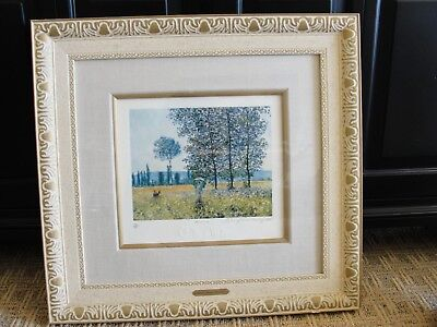 """CLAUDE MONET PARIS LIMITED EDITION PRIVATE COLLECTION 25 3/4 BY 24 1/2"""""""