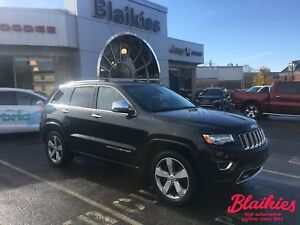 2014 Jeep Grand Cherokee Overland | 4X4 | BLIND SPOT / CROSS PAT