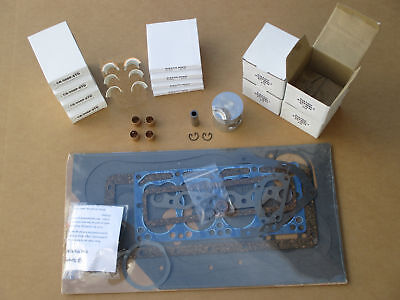 Major Overhaul Kit For Ih International 154 Cub Lo-boy 184 185
