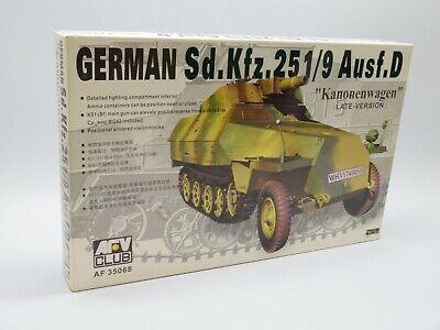 AFV Club AF35068 1/35 Sd.Kfz. 251/9 Ausf. D Kanonenwagen