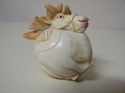 Harmony Kingdom RUDY Reindeer TJEVRU00 Roly Polys NEW Figurine