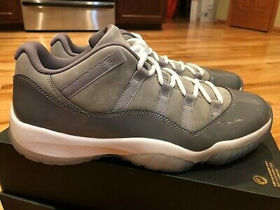 8331353f510 Nike Air Jordan 11 Retro Low Cool Grey Gunsmoke 528895 003 Size 12 - B Grade