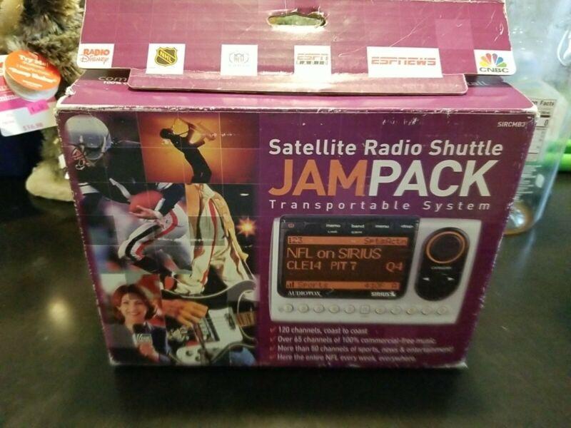 Audiovox Sirius Satellite Radio Jampack SIRCMB3 Radio Receiver Car Kit Open Box