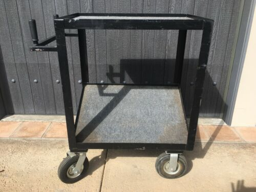 "VIDEO/GRIP/PROPS/CAMERA UTILITY CART 38""X 43 1/2"" X 22"" L.A. PICK UP ONLY"