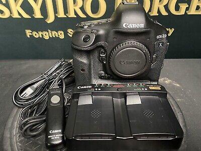 Canon EOS 1DX 1D X Digital SLR Camera Body + 80N3 Remote & USB Control Cable