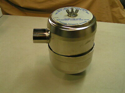 Welch Duo Seal Edwards Sargent Leybold Vacuum Pump Exhaust Filter