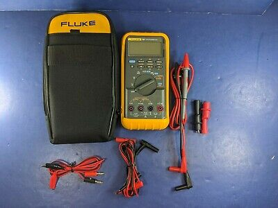 Fluke 787 Processmeter Screen Protector Excellent Soft Case Accessories