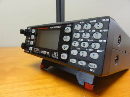UNIDEN BC785D DIGITAL SCANNER TRUNKTRACKER III RADIO RECEIVER