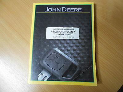 Gebruikshandleiding John Deere Trekkers 8120 8220 8320 8420 8520 Betriebsanleitu