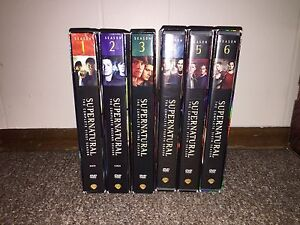 Brand new condition Supernatural Seasons 1-6