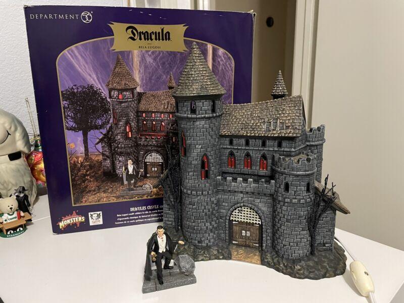 Department 56 Universal Studios Dracula Bela Lugosi