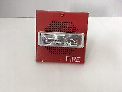 Wheelock Et70-24mcw Fire Alarm Speakerstrobe Red