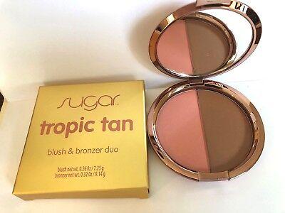 Tropic Tan Bronzer (SUGAR TROPIC TAN BLUSH AND BRONZER DUO  NEW IN)